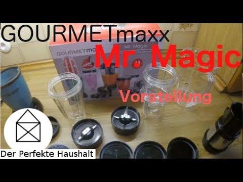 GOURMETmaxx Mixer Mr Magic Küchenmaschine Vorstellung - DerPerfekteHaushalt