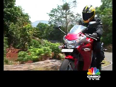 Honda CBR 250R tested on OVERDRIVE