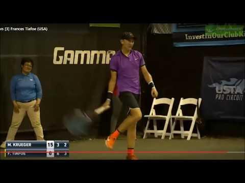 SEX During Tennis Match 18+ / Tiafoe vs. Krueger  Florida / СЕКС во время теннисного матча