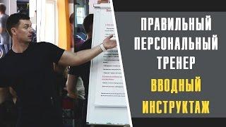 Александр Мельниченко - Правильный персональный тренер. Вводный инструктаж   36