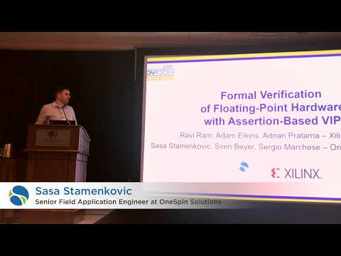 , title : 'Sasa Stamenkovic at DVCon US 2018 + Slides