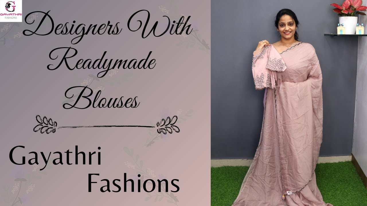 """<p style=""""color: red"""">Video : </p>Designer georgette 