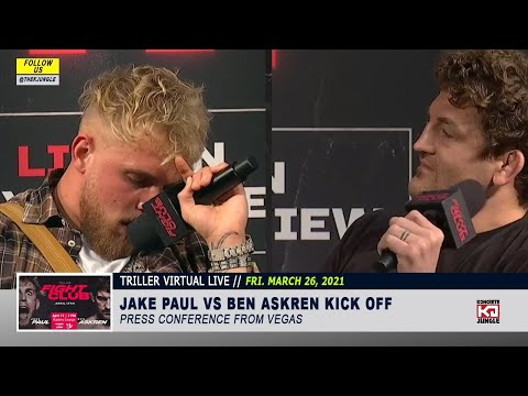 🤣 FUNNIEST JAKE PAUL vs BEN ASKREN INSULTS FROM PRESS CONFERENCE 😆 (HIGHLIGHTS)