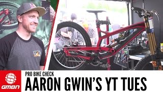 Aaron Gwin's YT Tues Downhill Bike + Gwin Interview!
