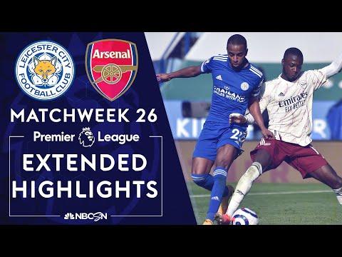 Leicester City v. Arsenal | PREMIER LEAGUE HIGHLIGHTS | 2/28/2021 | NBC Sports