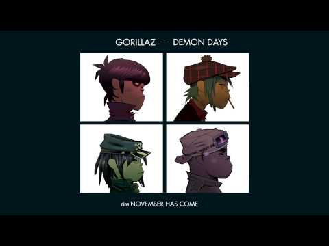 Gorillaz - November Has Come - Demon Days