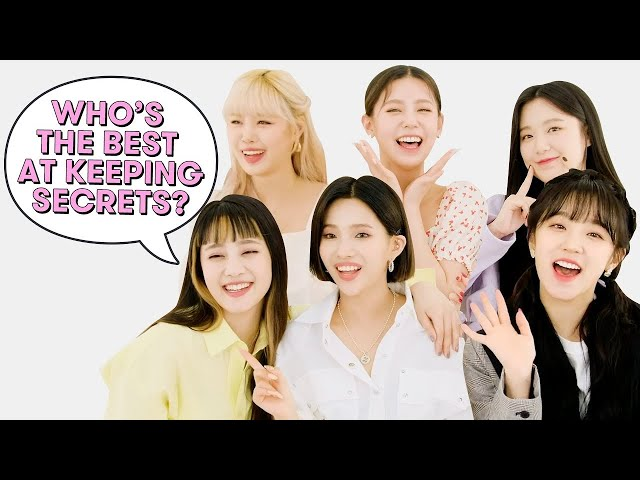(G)I-DLE Reveals Who Has the Most Aegyo, Who's the Best Singer, and More   Superlatives