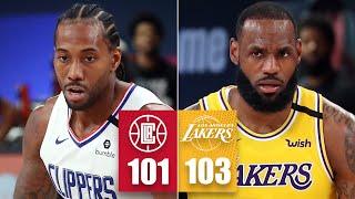 LA Clippers Vs. Los Angeles Lakers | 2019-20 NBA Highlights