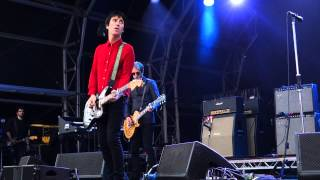 Johnny Marr Spiral Cities Castlefield Bowl Manchester 11th July 2015
