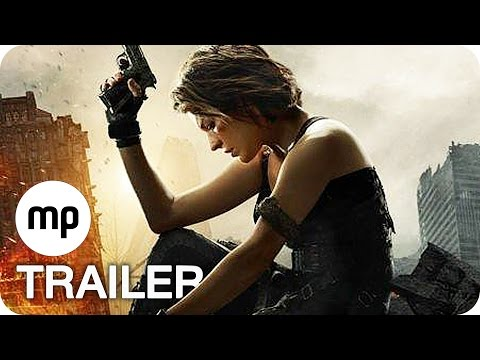 RESIDENT EVIL 6: THE FINAL CHAPTER Trailer German Deutsch (2017) Milla Jovovich