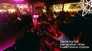 Video Pavel BIZZARO Pavlík's Drum Cam: Demimonde - Generation Ship (li