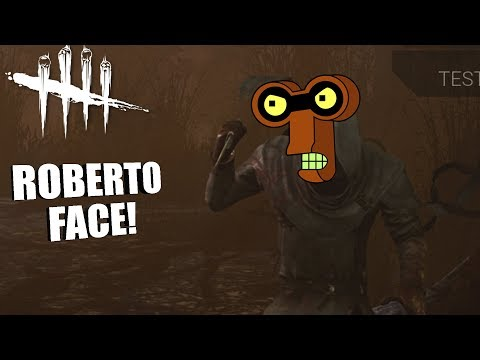 ROBERTO FACE! | Dead By Daylight GHOSTFACE GAMEPLAY