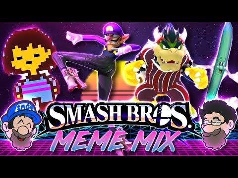 Smash Bros but on drugs || Smash Bros Hack MEME-MIX