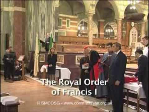 Constantinian Order 2003 – Investiture of Baroness Margaret Thatcher