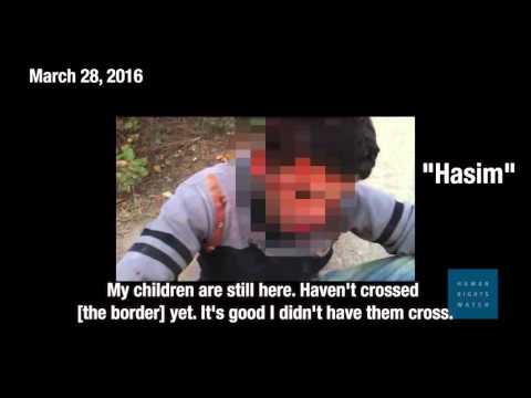 Le tir aux réfugiés autorisé en Turquie ? Human Rights Watch dénonce