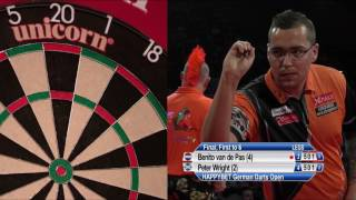WATCH Benito van de Pas took on Peter Wright in a thrilling