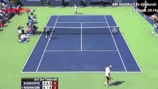 テニス錦織圭VSノバク・ジョコビッチ