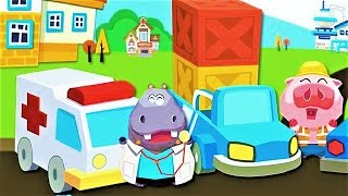 Dr. Panda Toy Cars | Play Fun with Various Types Of Vehicles | Fun Educational Games