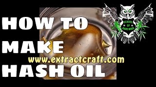How to Make Hash Oil with Alcohol with The Source | Make Your Own Dabs with ExtractCraft