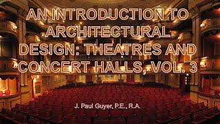 AV PP BULLET Architectural Design: Theatres And Concert Halls Vol 3