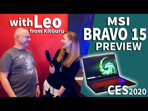 External Review Video EGnH96FZ2ic for MSI Bravo 15 Gaming Laptop (AMD Ryzen 4000)