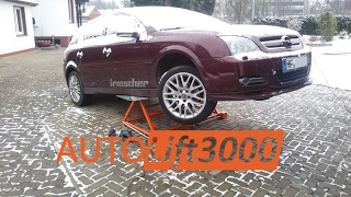 AUTOLift 3000 - Unboxing and First Test ᴴᴰ