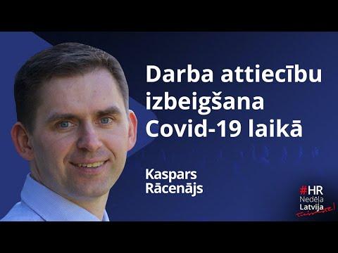 Darba attiecību izbeigšana Covid-19 laikā