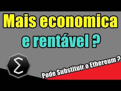 Ergo + Rentável e Econômica, Substituir o Ethereum ?