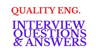 Civil Engineering Qa Qc Interview Questions Free Online Videos