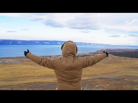 Video che pesca su una pertica nellinverno su Ladoga