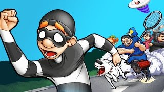 ВОРИШКА БОБ 2 часть Мультик игра для детей про воришку Robbery Bob 2