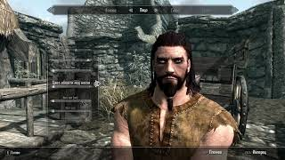 Skyrim создание персонажа