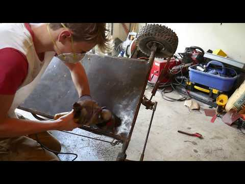 670cc Go Kart Restoration and Paint! - CarsandCameras - Video