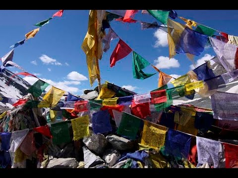 Tibetische Gebetsfahnen aus Nepal