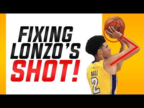 Fixing Lonzo Ball's Shooting Form: Basketball Shooting Form