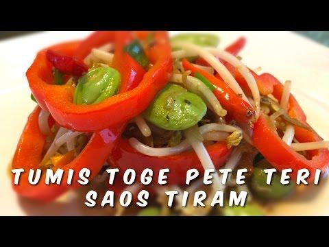 Video VLOG RESEP TUMIS TOGE PETE TERI SAOS TIRAM | VLOG MASAK | MASAKAN TUMIS