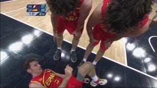 Men's Basketball Quarter-Finals - FRA v ESP | London 2012 Olympics