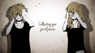 【Nightcore】→ Jar Of Hearts ( Switching Vocals ) || Lyrics