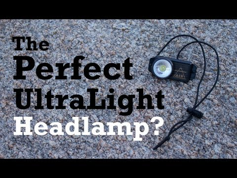 The Perfect UL Headlamp? – UCO Air 150 Review + MOD!