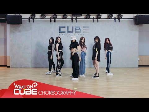 Gi Dle Hann Alone Choreography Practice Video