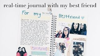 real-time journal with my best friend (non-journaler) | finessejournal
