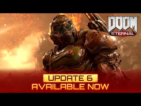 Doom Eternal Next Gen Update Adds Ray Tracing Support for PS5 and a New 'Ray Tracer' Ballista Skin