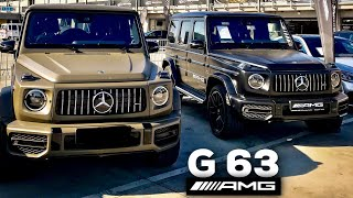 FIRST LOOK at 2019 MERCEDES-AMG G63! YELLOW OLIVE & NIGHT BLACK MAGNO | W464