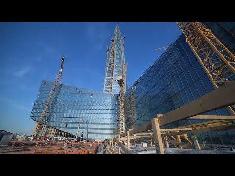 Lachta Center – St. Petersburgs neues Wahrzeichen [mit Video]