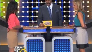 DUMB ANSWER! Family Feud  Contest Thinks Zombies Are 'Black'