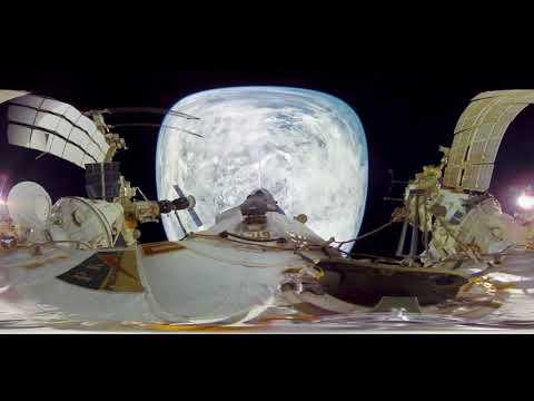 Вид с МКС 360°!на нашу голубую планету Видео: ТАСС/Ruptly посмотрите  глазами космонавтов!