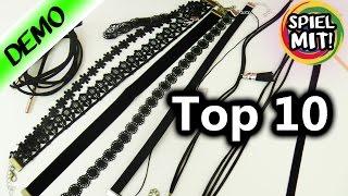 TOP 10 CHOKER KETTEN amazon | Coole Sammlung mit 90er Ketten | Fashion HAUL für Barbie