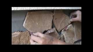 Облицовка фасада натуральным камнем видео