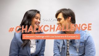 #ChalkChallenge: 7-Second Challenge With Liza Soberano And Enrique Gil