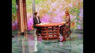 Gabriella Greison intervistata a Geo su Rai 3 da Sveva Sagramola